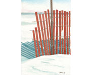 Bob Pitzel - End of the Snowfence